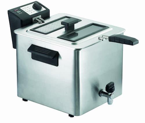 Friggitrice con rubinetto RGV Fry Type con 8 litri di capienza